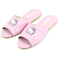 Hello Kitty Leather Slipper: Strawberry