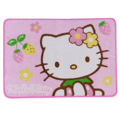 Helllo Kitty Area Rug: Flower