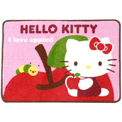 Hello Kitty Area Rug: Apple