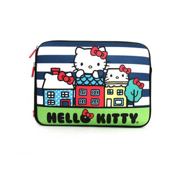 "Picture of Hello Kitty City 13"" Laptop Case"