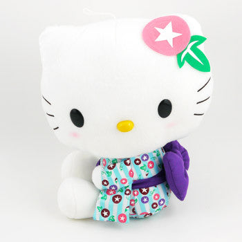 Picture of Hello Kitty Kimono Plush: Blue