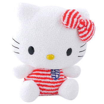 Picture of Hello Kitty Plush: Nautical Red