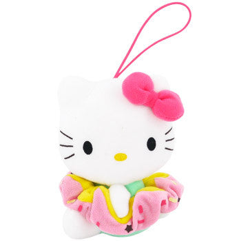 Picture of Hello Kitty Plush Hairband Holder: Dark Pink Bow