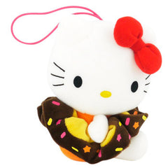 Hello Kitty Plush Hairband Holder: Red Bow