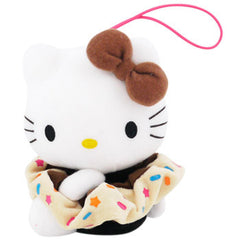 Hello Kitty Plush Hairband Holder: Brown Bow