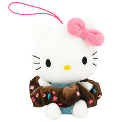 Hello Kitty Plush Hairband Holder: Pink Bow