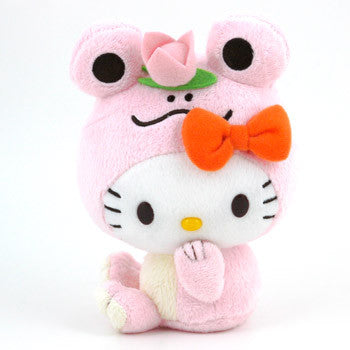 Picture of Hello Kitty Plush: Pink Frog