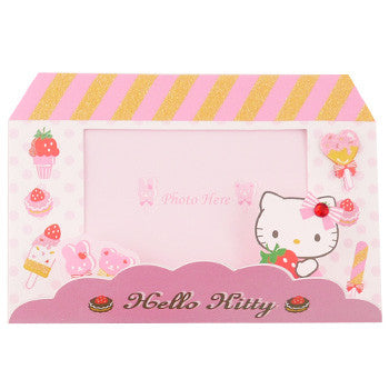 Picture of Hello Kitty Card: Photo Window/Easel
