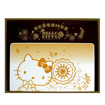 Picture of Hello Kitty Decorative Laptop Stickers: Flowers