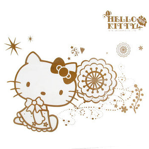 Hello Kitty Decorative Laptop Stickers: Flowers