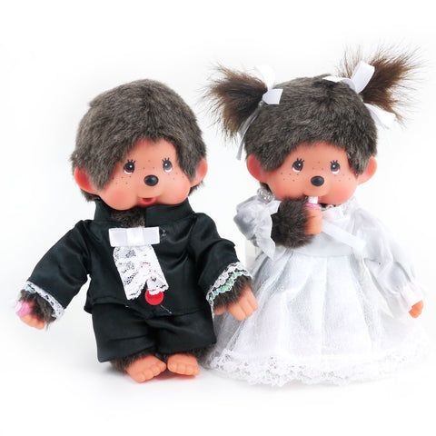 Picture of Monchhichi Wedding Plush Set