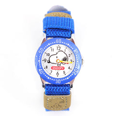 Snoopy Watch: Snoopy Face/Electric Blue