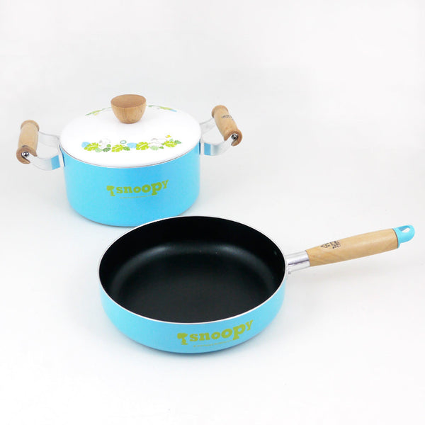 Snoopy Frying Pan & Dutch Oven Set