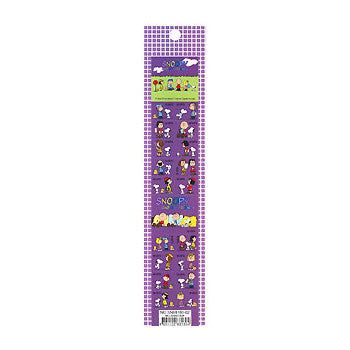 Picture of Snoopy Stickers: Dark Purple