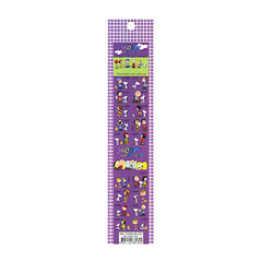 Snoopy Stickers: Dark Purple