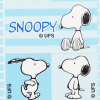Snoopy Stickers: Blue