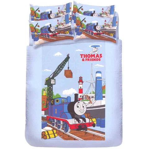 Picture of Thomas Single Bedding Set: Shipyard