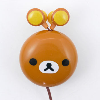 Picture of Rilakkuma Cord Reel Earphone