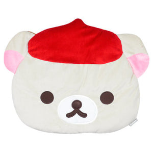 Korilakkuma Die Cut Face Cushion