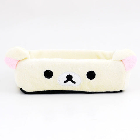 Picture of Rilakkuma Plush Storage Box: Korilakkuma