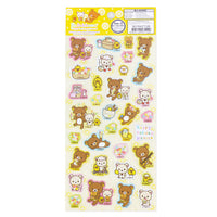 Rilakkuma Sticker: Happy Holiday Picnic
