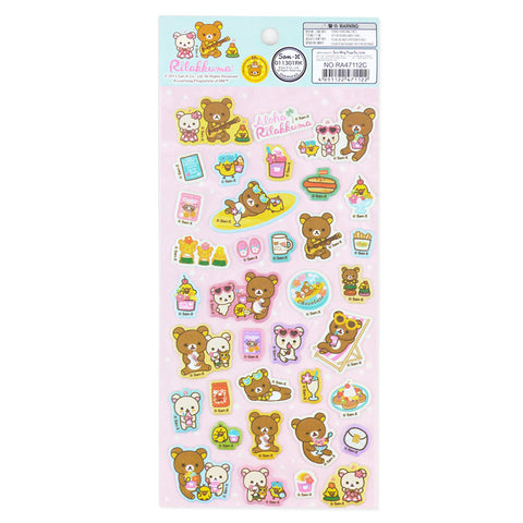 Picture of Rilakkuma Sticker: Aloha