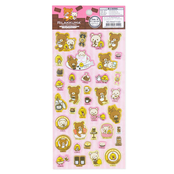 Rilakkuma Sticker: Coffee