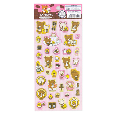 Picture of Rilakkuma Sticker: Coffee