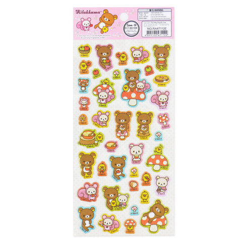 Picture of Rilakkuma Sticker: Polka Dot Mushroom