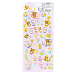 Rilakkuma Sticker: Sweets