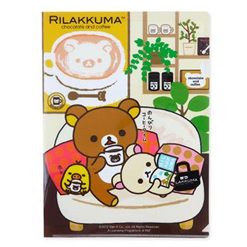Picture of Rilakkuma A4 File: Relaxing