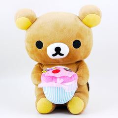 Rilakkuma Plush: Musical Birthday Cupcake