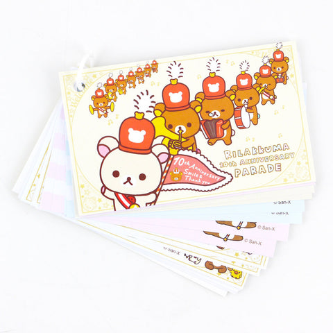 Picture of Rilakkuma Memo Card: Marching Band
