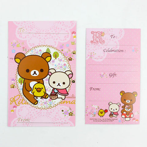 Picture of Rilakkuma Multipurpose Gift Voucher Envelope: Pink