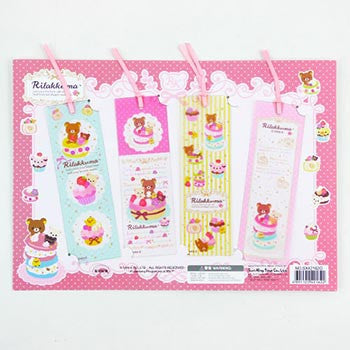 Picture of Rilakkuma Cupcake Bookmarks Set