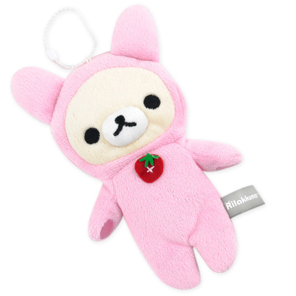 Korilakkuma Multi-Purpose Coin Purse: Strawberry