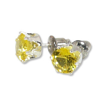 Picture of Stud Earrings: Lemon Yellow