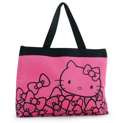 Picture of Hello Kitty Tote Bag: Pink Bows
