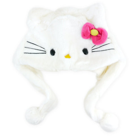 Picture of Hello Kitty Furry Hat With Pink Bow