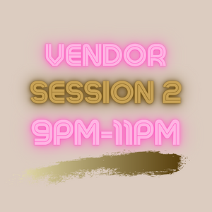 Vendor Table Session 2