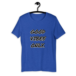 GOOD VIBES ONLY. || PRINTED TEE.