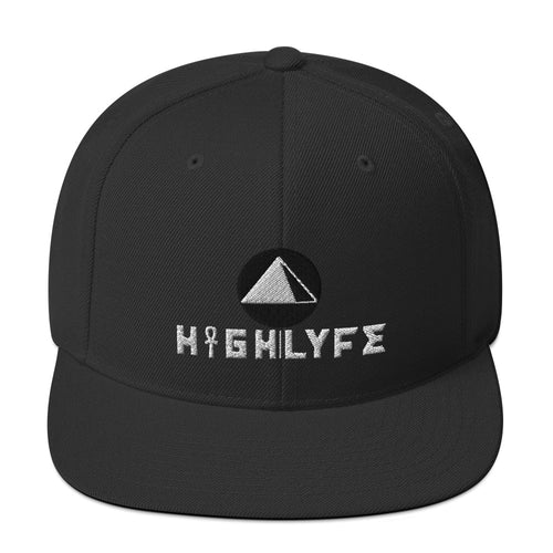 ORIGINAL BLACK HIGH|LYFE EMBROIDERED SNAPBACK