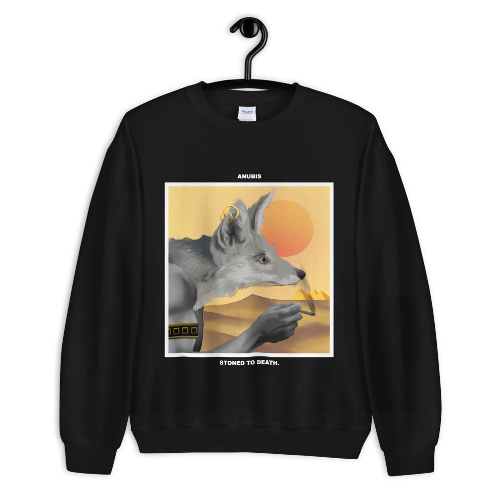 ANUBIS. SWEATSHIRT black