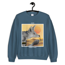 Load image into Gallery viewer, ANUBIS. SWEATSHIRT blue
