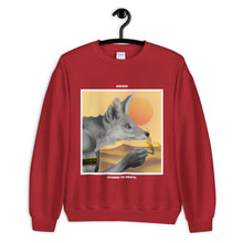 Load image into Gallery viewer, ANUBIS. SWEATSHIRT red