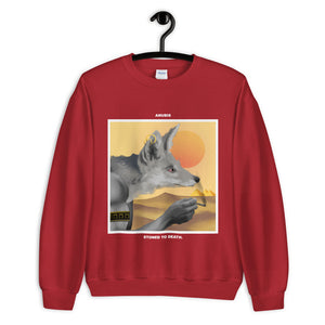 ANUBIS. SWEATSHIRT red