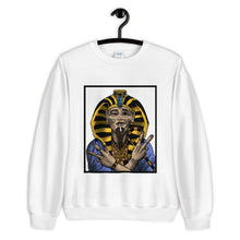 Load image into Gallery viewer, THE SMOKING PHARAOH. || IN COLOR. || CREW NECK SWEATER.