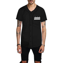 Load image into Gallery viewer, Black sheep All Over Print Baseball Jersey for Men (Model T50)