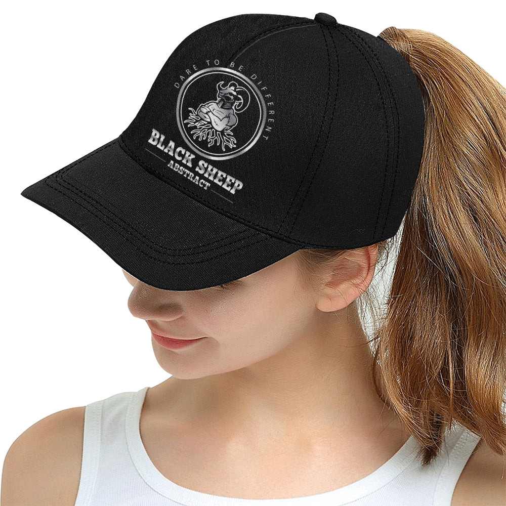 Black sheep All Over Print Snapback Hat D