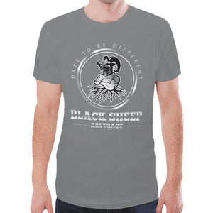 Black sheep New All Over Print T-shirt for Men (Model T45)